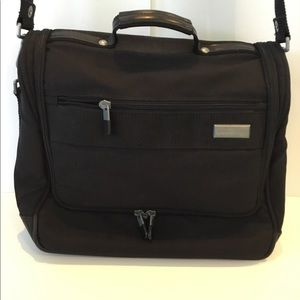 Briggs and Riley Black Travel Bag LapTop